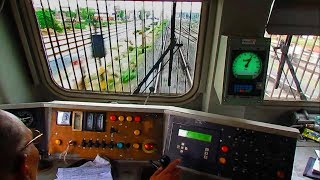 Download WAP7 Cab Ride - High Speed station crossings with super honking ! Video