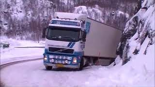 Download Norway Truck Crashes and Bad Weather Conditions Video