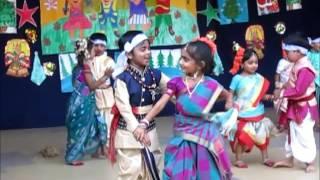 Download Cute Kids Dance to Telugu Folk Song - Mama Kuthura Maradalupilla Video