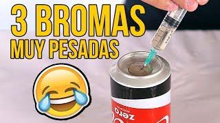 Download 3 BROMAS MUY PESADAS con comida Video