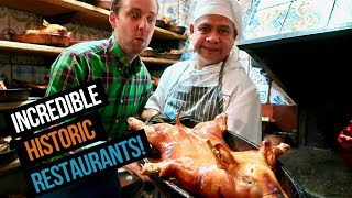 Download 5 FAMOUS + HISTORIC Madrid restaurants (including Botin!) Video