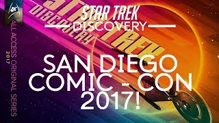 Download Star Trek Discovery - San Diego Comic-Con 2017 Coverage Review! Video