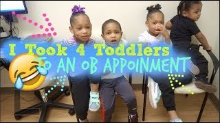 Download I TOOK 4 TODDLERS TO AN OB APPOINTMENT  DAY IN THE LIFE OF A MOM OF 7! Video
