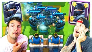 Download DESTROYING 2v2 WITH... MEGA KNIGHTS?! // CLASH ROYALE Video