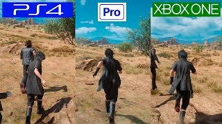Download Final Fantasy XV | PS4 VS PS4 PRO VS XBOX ONE | GRAPHICS COMPARISON Video
