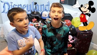 Download SURPRISING OUR KIDS WITH A TRIP TO DISNEYLAND TO CELEBRATE 100K SUBSCRIBERS! Video