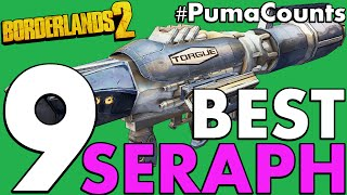 Download Top 9 Best Seraph Guns and Weapons in Borderlands 2 #PumaCounts Video