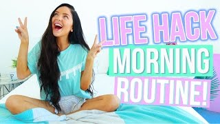 Download My Morning Routine: LIFE HACK EDITION! 2016! Video