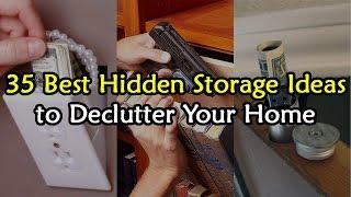 Download 35 Best Hidden Storage Ideas to De-Clutter Your House Video