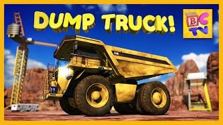 Download Learn About Dump Trucks for Children | Educational Video for Kids by Brain Candy TV Video