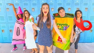 Download If My School Supplies Came to Life: The First Day of School Video