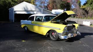 Download 1956 Chevy Pro Street For Sale~632 Big Block~Dart Block~Brodix Heads~8.50 Certified in 2015 Video