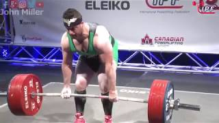 Download Amar Kanane - 812.5kg 2nd Place 93kg - IPF World Classic Powerlifting Championships 2018 Video
