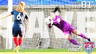 Download WNT vs. France: Hope Solo Save - March 11, 2015 Video