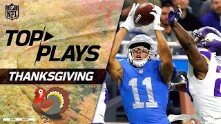 Download Top Plays from Thanksgiving Day! | NFL Week 12 Highlights Video