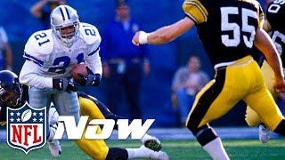 Download The Legend of Deion Sanders' 40-yard Dash   NFL Now Video