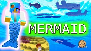 Download I'm A Mermaid - Cookieswirlc Minecraft Game Let's Play Swimming Underwater Oceancraft Gaming Video Video