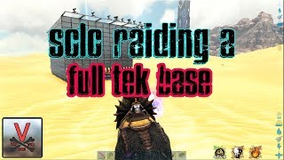 Download Solo Raiding A TEK base (Official PVP) - ARK: Survival Evolved Video