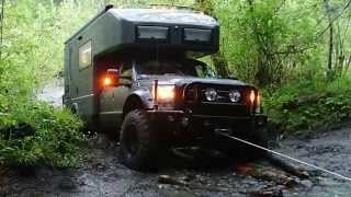 Download Earth roamer stuck in the hoh river mud Video