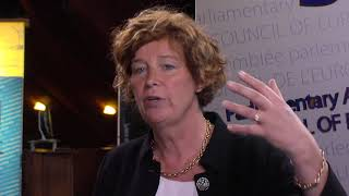 """Download Petra De Sutter: """" Parliamentary Assembly needs to keep dialogue with Russia"""" Video"""