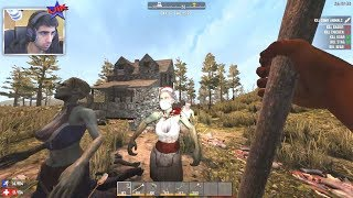 Download BUILDING A MINIBIKE! - 7 DAYS TO DIE #10 (Season 4) Video