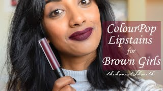Download ColourPop Lipstains for Brown Skin Video