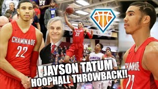 Download HIGH SCHOOL Jayson Tatum SHOWS OUT AT HOOPHALL CLASSIC!! | Celtics Rookie Sensation Video