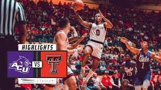 Download Abilene Christian vs. No. 11 Texas Tech Basketball Highlights (2018-19) | Stadium Video
