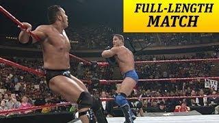 Download FULL-LENGTH MATCH - Raw - Ken Shamrock vs. The Rock - Intercontinental Title Match Video