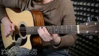 Download Электроакустическая гитара SIGMA DMC-1STE Video