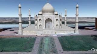 Download Taj Mahal 3D Virtual Tour using Google Maps Video