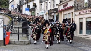 Download Royal Regiment Of Scotland March To Celebrate Huge Honour Video