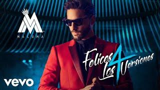Download Maluma - Felices los 4 ((Pop Version)[Audio]) Video