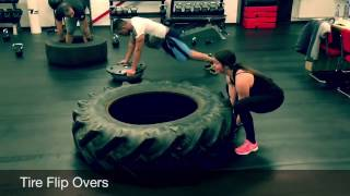 Download 20 great Tractor Tire Exercises for bootcamp or a Total-body fitness work-out Video