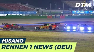 Download Highlights Rennen 1 - DTM Misano 2018 Video