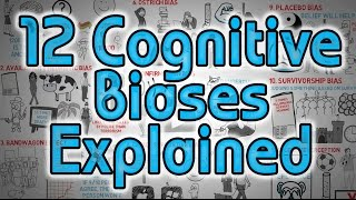 Download 12 Cognitive Biases Explained - How to Think Better and More Logically Removing Bias Video