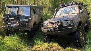Download Как найти болото в +30? TLC80, Wrangler, Volvo c303 - все на одинаковых мостах) Video