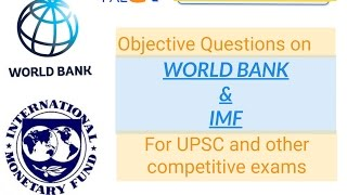 Download World bank and IMF : SDR, Quota, IBRD, IDA, IFC, MIGA, ICSID ;For UPSC and other competitive Exams Video