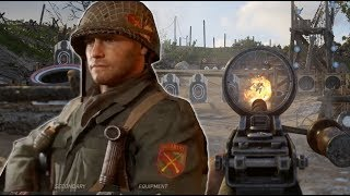 Download Call of Duty WW2: Testing All The Weapons in The Firing Range - E3 2017 Video