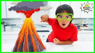 Download Volcano science experiment for Kids to do at home with Vinegar and Baking Soda!!! Video