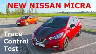 Download 2017 Nissan Micra 0.9T, Trace Control Test Video