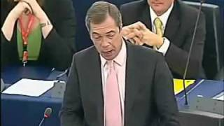 Download Nigel Farage touches quite a few nerves in the EU Parliament Video