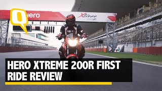 Download Hero Xtreme 200R First Ride Review: What Hero's First 200cc Bike Offers Video