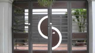 Download Cổng biệt thự, cổng nhôm đúc, cổng sắt đẹp, cổng sắt mỹ thuật, cổng tự động, hàng rào đẹp. Video