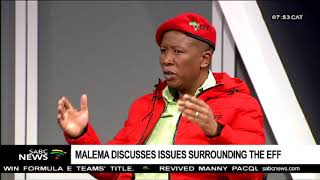 Download Malema discusses issues surrounding the EFF Video