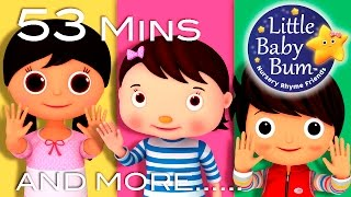 Download Ten Little Fingers | Plus Lots More Nursery Rhymes | 53 Minutes Compilation from LittleBabyBum! Video