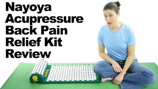 Download Nayoya Acupressure Back Pain Relief Kit Review - Ask Doctor Jo Video