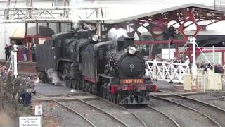 Download Steam Spectacular 3 Generations of Steam Engines & A Rare Parallel Steam Train Run Video