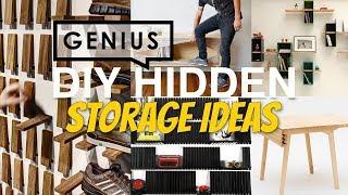 Download 20 Smart DIY Hidden Storage Ideas that Keep Clutter in Check Video