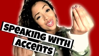 Download IM FROM THE WORLD! SPEAKING WITH ACCENTS | Lizzza Video